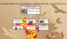 LAS MINORIAS EN COLOMBIA