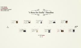 """A Rose for Emily"" Timeline"