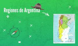 Copy of Regiones de Argentina