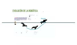Evolución de la robótica