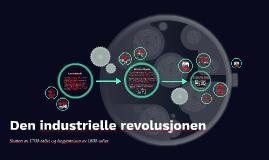 Copy of Den industrielle revolusjonen