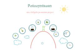 Fotosyntesen og celleånding