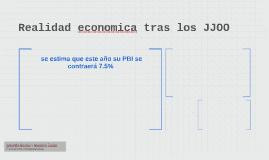 Realidad economica tras los JJOO