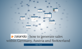 Zalando - generate sales within Germany, Austria and Switzer