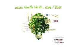 Copia de Huella Verde