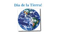 Dia de la Tierra!