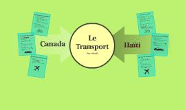 Haiti & Canada - La Transportation