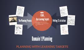 Domain 1:Planning