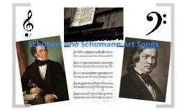 Schubert and Schumann art song