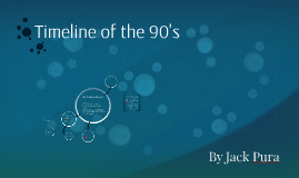 Timeline of the 90's