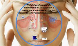 Rol del profesional de enfermería en la atención a usuarios