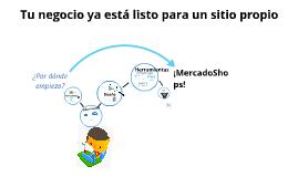 Presentación comercial MercadoShops 2013