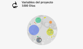 Variables del proyecto 1000 Días