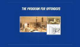 the program for offenders
