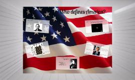 Who defines America?