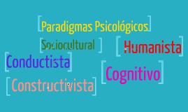 Copy of PARADIGMAS PSICOLÓGICOS