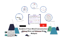 Analysis of Trace Metal Contamination in Pahang River and Ke