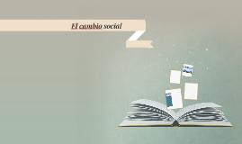 Cambio Social Sociologia