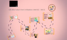 Life After India's First Civilization 1000 BCE - 300 CE