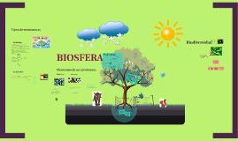 Biosfera y Ecosistema