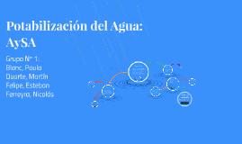 Potabilización del Agua, Ingeniería y Sociedad