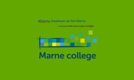 Mirjams loopbaan op het Marne College
