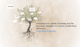 Protestant and Catholic Teachings and The Economic Thought o