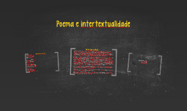 Poema e intertextualidade