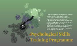 Psychological Skills Training Programme