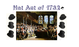 Hat Act of 1732