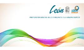 PROGRAMA DE CONSTRUCCIÓN DE UNA CULTURA DE PREVENCIÓN SOCIAL