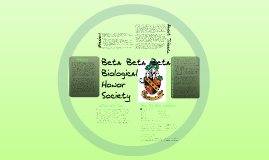 Tribeta: Biology Honors Society