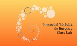 Poetas del '30: Julia de Burgos y