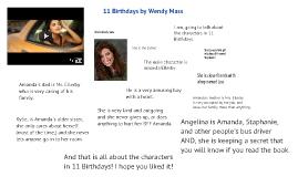 11 Birthdays by Wendy Mass