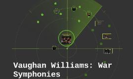 Copy of Vaughan Williams: War Symphonies