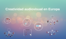 Creatividad audiovisual en Eurooa