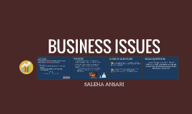 Business Issues Presentation