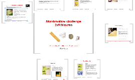 Marshmallow challenge: 2x9 Minuten mit Lessons learned