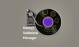 Disney's Subliminal Messages