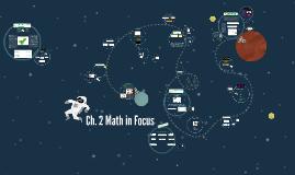 Ch. 2 Math in Focus