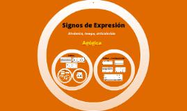 Signos de Expresion