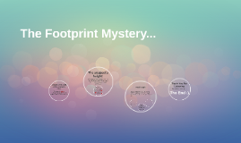 The Footprint Mystery...