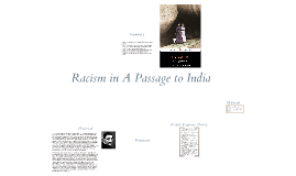 passage to india-racism