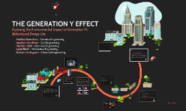 THE GENERATION Y EFFECT