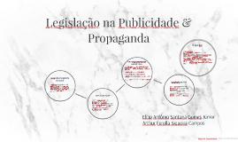 Legislação na Publicidade & Propaganda