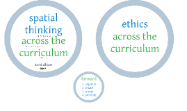 Implementing Spatial Thinking Across the Curriculum