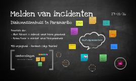 Kwaliteitsonderzoek: melden van incidenten