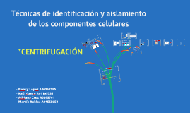 Copy of Centrifugación