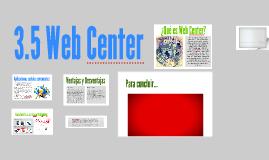 3.5 Web Center