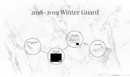 2018-2019 Winter Guard